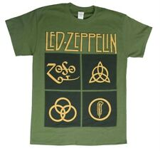 Led Zeppelin Black Box ZOSO Symbols T-Shirt