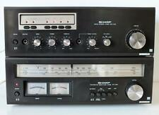 Vintage SHARP OPTONICA SM-1122 Stereo Amplifier & ST-1122 Tuner - Made in Japan