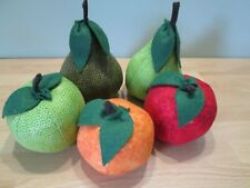 Beautiful Hand Crafted Fruit Pin Cushion - Choose From Apple, Pear or Orange
