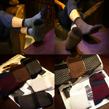 5pairs 5 Color Casual Ankle Socks Soft Cotton Stockings US 7~12 Size Multi-Type