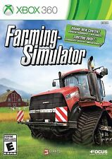 NEW! Farming Simulator (Microsoft Xbox 360) BRAND NEW & FACTORY SEALED!!!