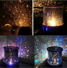 Colorful Twilight Romantic Sky Projector LED Star Master Lamp Party Blue/Black