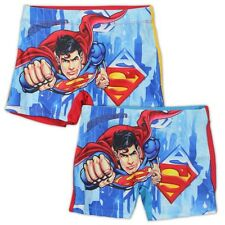 New Boys Character Superman Batman Swimming Trunks Swim Briefs Shorts Age 3-8Y