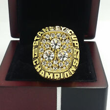 1987 Edmonton Oilers Stanley Cup Hockey Championship Ring 11Size Solid Back