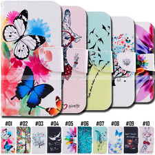 PU Leather Stand Fashion Various Holder Retro Magnetic Case Cover For Samsung