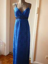 REVIEW ROYAL BLUE JOICE MAXI DRESS Evening/wedding  size 6 RRP: $299.95 NWT