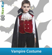 Vampire Costume | Scary Classical Halloween Fancy Dress Costumes Kids Boys
