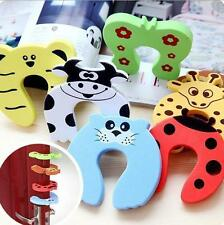 NEW 2pcs Baby Safety Stop Door Finger Pinch Guard Lock Jammer Door Stopper