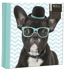 "Animal Photo Album 6""x4"" Holds 200 Photos Slip In Memo Photo Album Writing Area"
