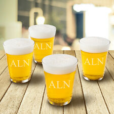 Personalized 4 Glass Whiskey Wine Beer Cup Set Free Shipping