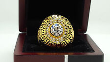 1985 Edmonton Oilers Stanley Cup championship ring solid 11S