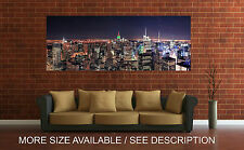 Wall Art Canvas Print Picture New York Cityscape  Manhattan Panoramic-Unframed