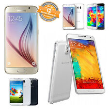 Samsung Galaxy S3/S4/S5/Note 3/Note 4/A7/A8/A9 Unlocked Smartphone 4G Mobile Lot
