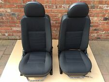 NEW GENUINE LAND ROVER DEFENDER 90/110/130 TDCI/PUMA XS HEATED BLACK CLOTH SEATS