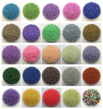 200pcs 4mm DIY Lots Charm Czech Glass Seed beads Jewelry Making Craft UK