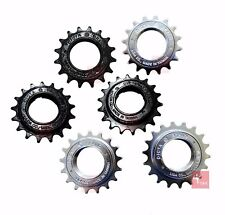 "DICTA BMX Freewheel 16T/17T/18T Single Speed 1/2"" x 1/8"" Black Chrome Bronze"