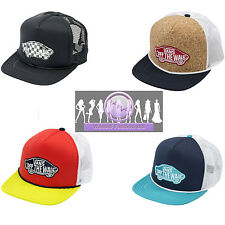 Vans Off The Wall Classic Patch Patchwork Snapback Trucker Hat - One Size
