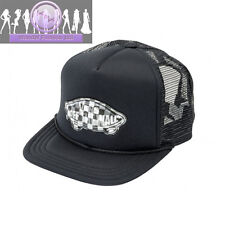Vans Off The Wall Classic Patch Patchwork Snapback Trucker Hat - Black
