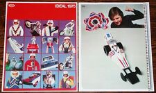 1975 EVEL KNIEVEL Ideal DEALER CATALOG PGS Stunt Cycle reproduction catalog pgs