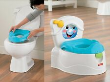 Potty Chair Toddler Trainer Lights Sounds Reward Kids Baby Toilet Training Seat