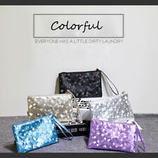 Stone hand holding bag Woman Fashion Soft Handbag Hand Hold  Wristlet Clutch bag