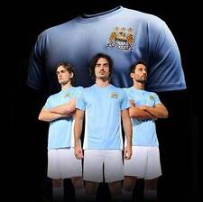 OFFICAL FOOTBALL CLUB TRAINING SHIRTS MAN CITY PERSONALISED 5 CLUBS 5 SIZES BNWT