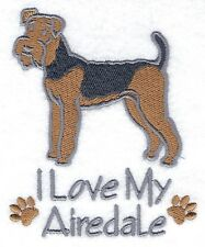 AIREDALE   POLO SHIRT  EMBROIDERED  10 COLOURS 5 SIZES  BNWT