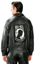 Mens POW MIA Military Bomber Jacket