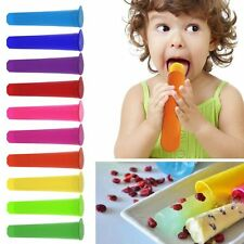 1X Silicone Push Up Ice Cream Jelly Pop Popsicle Mould Mold DIY Popsicle Mould