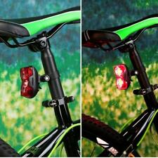 Bike Bicycle Light 2 LED 3 Mode Cycling Back Taillight Safe Flashing Rear Light