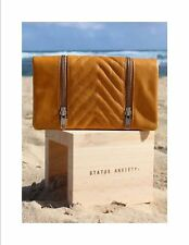 Status Anxiety Alice Wallet - Tan RRP $99 Leather Brand New