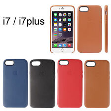 Ultra-Thin Genuine Leather Soft Case Cover For Apple iPhone 7 7Plus