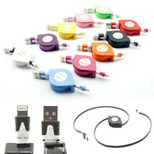 Retractable USB Data Sync Charger Cable For iPhone 5 5C 5S 6 7 Plus iPod Touch o