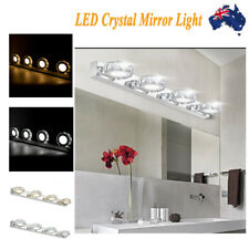 12W 1200lm LED Crystal Make Up Beauty Mirror Front Light Bathroom Toilet Lamp