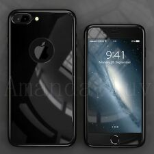 New Mirror 360 Full Body Hybrid Hard Cover + Temper Glass Case For iPhone 6 6S 7
