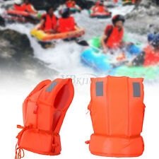 Adult Child Life Jackets Life saving Whistle Vest Sea Sailing Swimming Drifting