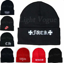 New Men Women Beanie Unisex Warm Winter Knit Fashion Hat Hip-hop Beanie Hats 48e