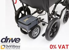 Lightweight Dual Wheel Power Stroll With Reverse Electric Wheelchair Motor