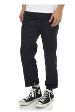 DICKIES SLIM STRAIGHT FIT FLAT FRONT MENS DARK NAVY WORK PANTS AUSTRALIA