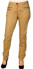 Ladies Stretch Fabric Chino Trousers cream sand beige Oversized large Size 52,54