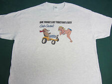 """CUB CADET """"SHE THINKS MY TRACTOR'S SEXY"""" Garden Tractor Tee Shirt"""