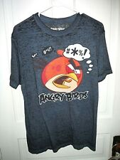 New Mens Angry Birds Angry Words T-Shirt
