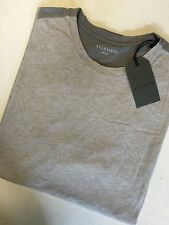 """ALL SAINTS MEN'S TAUPE PUTTY GREY """"DRAKEN"""" T-SHIRT TOP - XS S M L - NEW TAGS"""