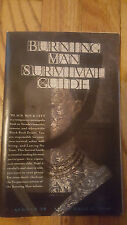 1 of 4 Burning Man Survival Guide 2016 GREAT CONDITION!!