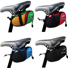 Cycling Bike Saddle Bag Seat Rack Pack Tail Pouch Frame Pannier