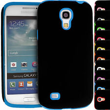 Double Layer Hybrid Hard Silicone Cover Case for Samsung Galaxy S 4 i9500 i9505