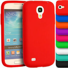Soft Plain Silicone Case Gel Rubber Skin Cover for Samsung Galaxy S4 i9500 i9505
