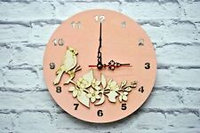 wall clock large parrot modern room home decor new design unique