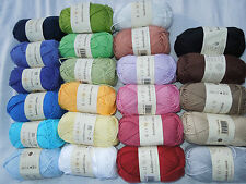 **SALE** MANY COLOURS Rowan Handknit Cotton, 100% cotton 50g balls