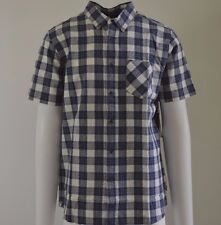 NWT RIP CURL SURF PLAID SHIRT SHORT SLEEVE (Retail $59.99)